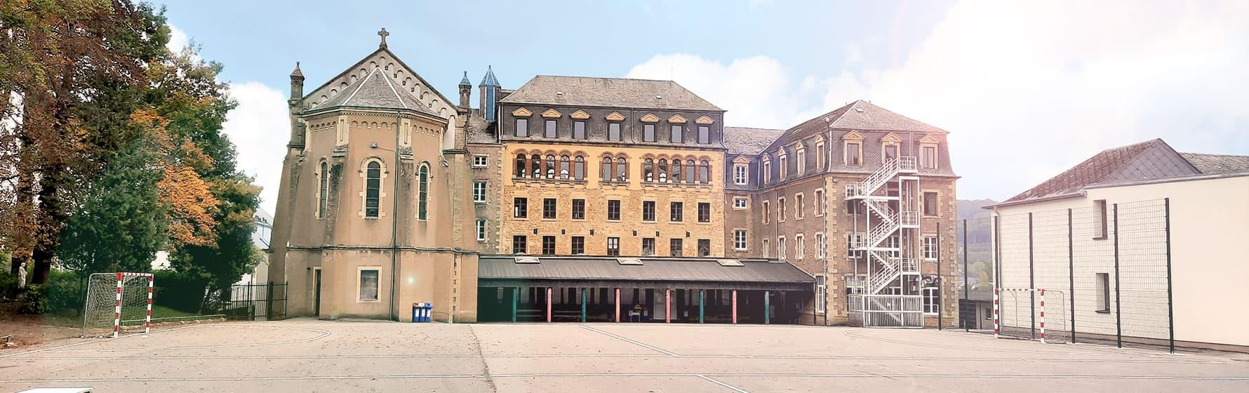 Vue du bâtiment de Differt